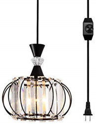 LBTSMUK Hanging Lamps Swag Lights Plug in Pendant Light 16 FT Cord and Pendant $56.54