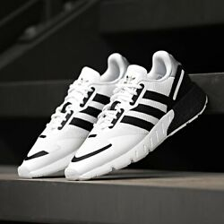 🚨 Adidas ZX 1K Boost Men's Athletic Shoe White Running Sneaker Casual Trainers $69.99