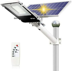 300W Solar Street Lights Outdoor Dusk to Dawn Solar Led Outdoor Light with Led