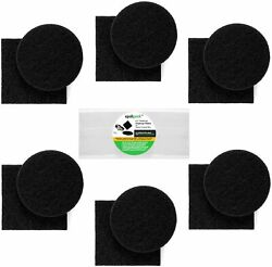 Compost Bin Filters Charcoal Filter Replacement for Kitchen Pail Composter $51.99