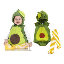 Unisex Baby Clothes Set Stage Performance Zip up Hooded RomperStriped Stockings $16.89