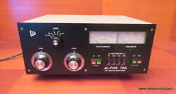 Alpha 76A Amplifier with Hipersil Transformer Low Power Drive Mod Clean $3250.00