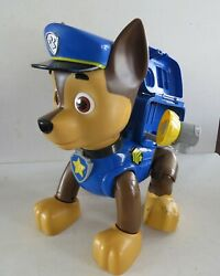 LARGE Plastic Paw Patrol Chase Figurine TOY 11.5quot; by 10quot; $15.00