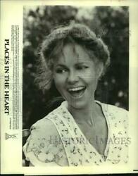 1984 Press Photo Sally Field as Edna Spalding in quot;Places In The Heartquot; $13.99