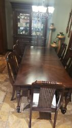 DINING ROOM SET WITH CHINA CABINET $2250.00