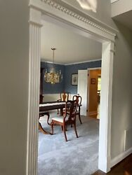 Dining room table chairsand china closet $1500.00