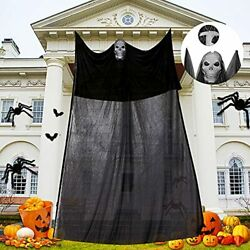 Halloween Ghost Hanging Scary Creepy Halloween Wall Decorations for Indoor Ou... $17.29