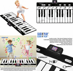 Giant Piano Mat Click N#x27; Play Keyboard for Floor with 24 Keys 4... $28.04