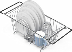 In Sink Dish Drying Rack Large Drainer Over The Kitchen For Small Spaces $22.83