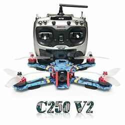 C250 V2 250mm RC Quadcopter FPV Racing Drone RTF with Flycolor 4 in 1 S Tower $458.35