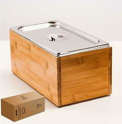 Kitchen Compost Bin with lid As Indoor Compost Bin with Stainless Steel Insert $72.99