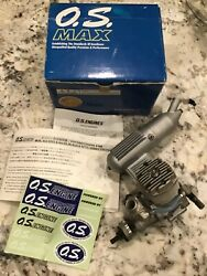 O.S. MAX 46 FX RC Engine with muffler Original box and paperwork see pictures $89.99