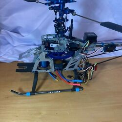ALIGN RC 3D HI PRO HELICOPTER FOR PARTS. INCLUDES MOTOR. $149.99