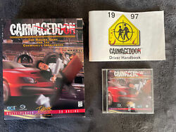 Carmageddon PC 1997 Big Box First Print Complete Interplay Excellent $54.00