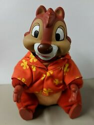 5quot; Chip and Dale Rescue Rangers Dale plush w vinyl head Applause stuffed toy $19.99