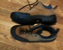 ALPINA LEATHER HIKING TRAIL TREKKING SHOES BOOTS 9 $62.00