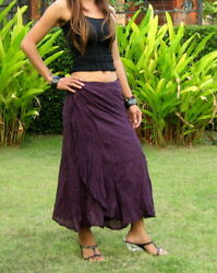 Cotton Wrap Skirt For Women * Flamenco Wrap Skirt * Gypsy Wrap Skirt * SW S $39.99