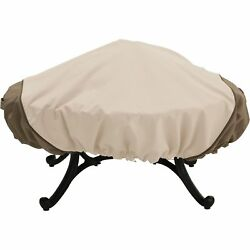 Classic Accessories Fire Pit Cover - Fits Round Pits Medium Pebble Model# 78992