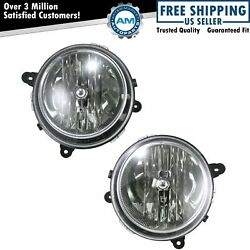 Front Headlights Headlamps Lights Lamps Pair Set of 2 for Jeep Compass Patriot $68.59