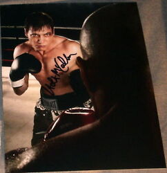 HOLT MCCALLANY SIGNED AUTOGRAPH LIGHTS OUT FIGHT PHOTO