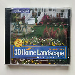 3D Home Landscape Designer 4.0 Special Edition *** NEW *** For Win 98 2000 ME XP $8.99