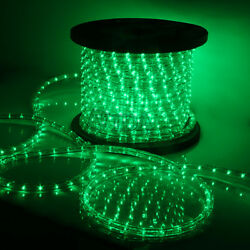 Green LED Rope Light 110V Home Party Christmas Decorative InOutdoor