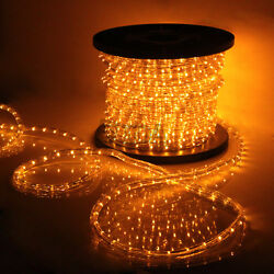 Saffron Yellow LED Rope Light 110V Home Party Christmas Decorative InOutdoor
