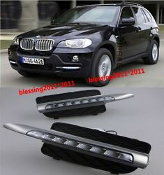 2x LED daytime running light DRL for 2009-2010 BMW X5 E70 Ultra-bright LED DRL A