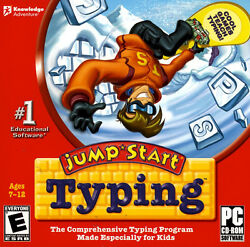 JumpStart Typing PC Learn How to Type for kids Jump Start Keyboarding $9.49