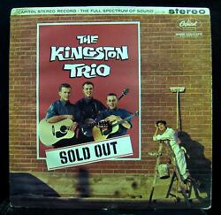 THE KINGSTON TRIO sold out LP VG ST-1352 UK Stereo Vinyl  Record