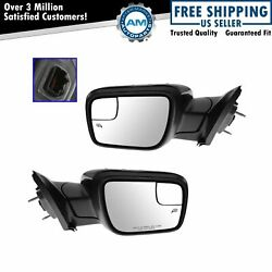 FORD OE Mirror Power Heated Turn Puddle Light Blind Spot Pair for 11-14 Explorer