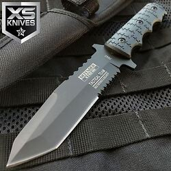 9quot; Combat Tactical Bowie Hunting Knife Military Fixed Blade Survival Sheath $11.99