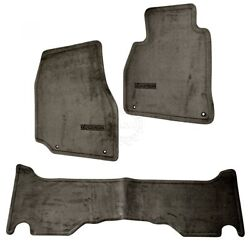 OEM Floor Mat Carpet Set of 3 LH RH Front and Rear for 98-07 Lexus LX470 New $126.75