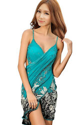 Women Swimwear Bikini Cover Up Beach Dress Bathing Suit Swimsuit Swim Wear $11.97