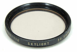 PENTAX 110 30.5mm Skylight for 18mm lens