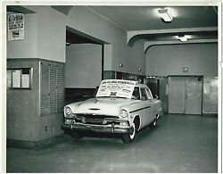 1955 Plymouth Automobile Commercial Promotional Bamp;W Photo Milwaukee Dealership