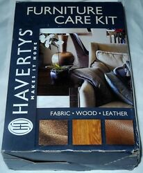 New Havertys Makes It Home Furniture Care Gold Kit Fabric - Wood - Leather