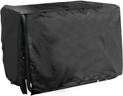 All Weather Protected Durable Black Generator Cover Medium 24