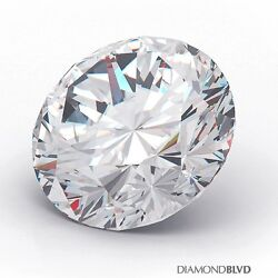 1.13 Carat JSI1Ex Cut Round Brilliant AGI Earth Mined Diamond 6.64x6.69x4.11mm