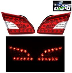 LED Trunk Lamps w Park Brake Lights by DEPO Fits Nissan Sentra 2013 2016 $129.95