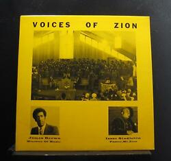 James Brown Isaac Singleton - The Voices Of Zion LP VG+ Private IL Gospel Vinyl