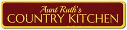 Country Kitchen Sign Personalized Name Sign Country Kitchen Metal Wall Decor $13.49