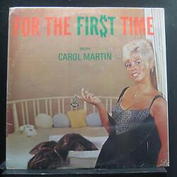 Carol Martin - For The First Time LP New Sealed Private Mono 1960's Vinyl Record