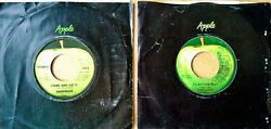 BADFINGER - COME AND GET IT NO MATTER WHAT - LOT OF (2) APPLE 45'S