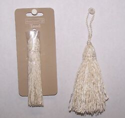 3 Tassels IVORY Color Rayon  3-34