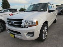 2017 Ford Expedition Limited 2017 Ford Expedition EL Limited 5 Miles White Platinum Metallic Tri-Coat Sport U
