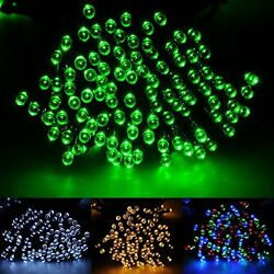 Brightown 72ft22m 200 LED Solar Fairy String Lights for Outdoor Gardens Patio L