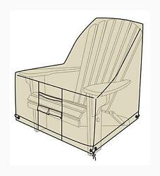 Adirondack Chair Outdoor Furniture Cover40inLx34inWx36inH In Sand New