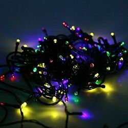 8 Modes 200 LED Solar Powered String Fairy Lights for Outdoor Garden Patio Chris
