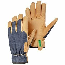 Hestra Kobolt Denim Gloves Medium Indigo Gardening & Lawn Care New